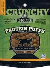 Redbarn Protein Puffs Chicken Flavor Cat Treats 1oz