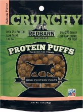 Redbarn Protein Puffs Salmon Flavor Cat Treats 1oz
