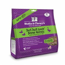 Stella & Chewy's Cat Freeze-Dried Raw Duck Duck Goose Dinner Morsels 18oz