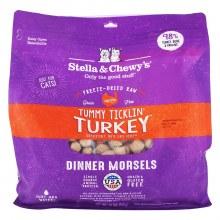 Stella & Chewy's Cat Freeze-Dried Raw Tummy Ticklin' Turkey 18oz