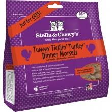 Stella & Chewy's Cat Freeze-Dried Raw Tummy Ticklin' Turkey 3.5oz