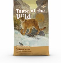 Taste of the Wild Adult Cat Canyon River 5lb