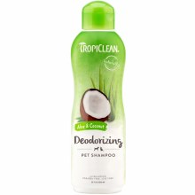 TropiClean Deodorizing Pet Shampoo in Aloe and Coconut 20oz