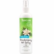 TropiClean Deodorizing Pet Spray in Baby Powder 8oz