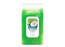 TropiClean Ear Cleaning Wipes for Pets in Mild Coconut 50ct