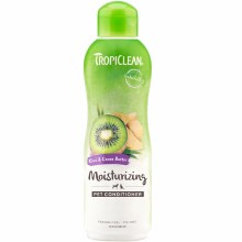 TropiClean Moisturizing Pet Conditioner with Kiwi and Cocoa Butter 20oz