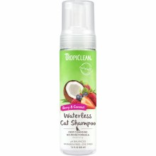TropiClean Waterless Cat Shampoo in Berry and Coconut 7.4oz