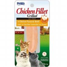 Inaba Grilled Fillet Chicken in Chicken Broth 0.9oz