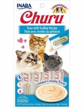Puree Churu Tuna with Scallop 4 Pack 2oz