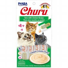 Puree Churu Tuna with Chicken 4 Pack 2oz