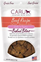 Caru Naturals Beef Bites for Dogs 4oz