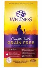 Wellness Complete Health Senior Cat Grain Free Chicken and Herring 5.5lb