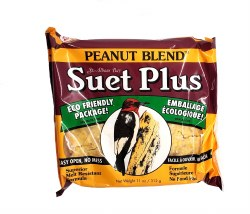 Wildlife Sciences Suet Plus Peanut Blend 11oz