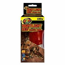 Zoo Med Nightlight Red Reptile Bulb 100w