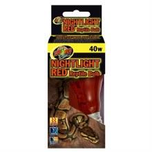 Zoo Med Nightlight Red Reptile Bulb 40w
