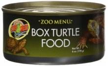 Zoo Med  Zoo Menu Box Turtle Food Can 6oz