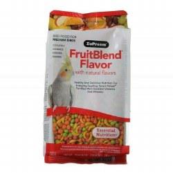 ZuPreem FruitBlend Flavor with Natural Flavors for Medium Birds 14oz