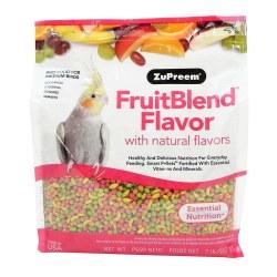 ZuPreem FruitBlend Flavor with Natural Flavors for Medium Birds 2lb