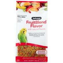 ZuPreem FruitBlend Flavor with Natural Flavors for Small Birds 14oz