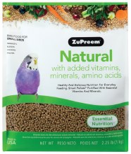 ZuPreem Natural for Small Birds 2.5lb