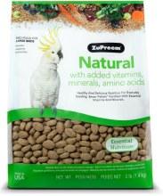 ZuPreem Natural for Large Birds 3lb