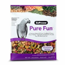 ZuPreem Pure Fun for Parrots and Conures 2lb
