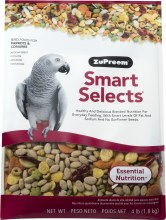 ZuPreem Smart Selects for Parrots and Conures 4lb
