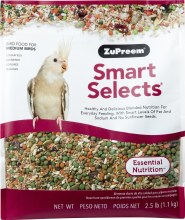 ZuPreem Smart Selects for Medium Birds 2.5lb