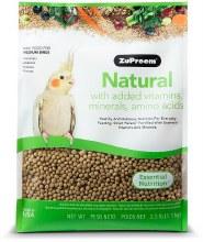 ZuPreem Naturals for Medium Birds 2.5lb