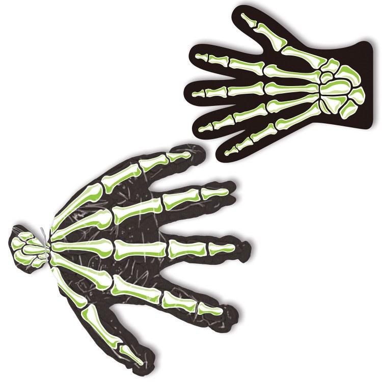 Treat Bags Skeleton Hands