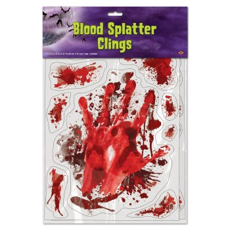 Clings Blood Splatter
