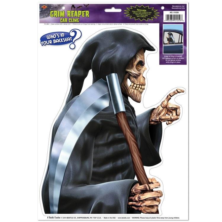 Clings Grim Reaper Backseat