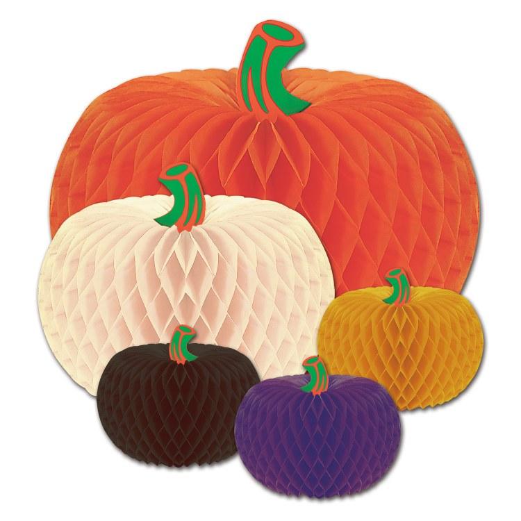 Pumpkin Tissue Asst. 5 Pack