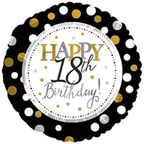 "18"" Happy 18th Birthday!"