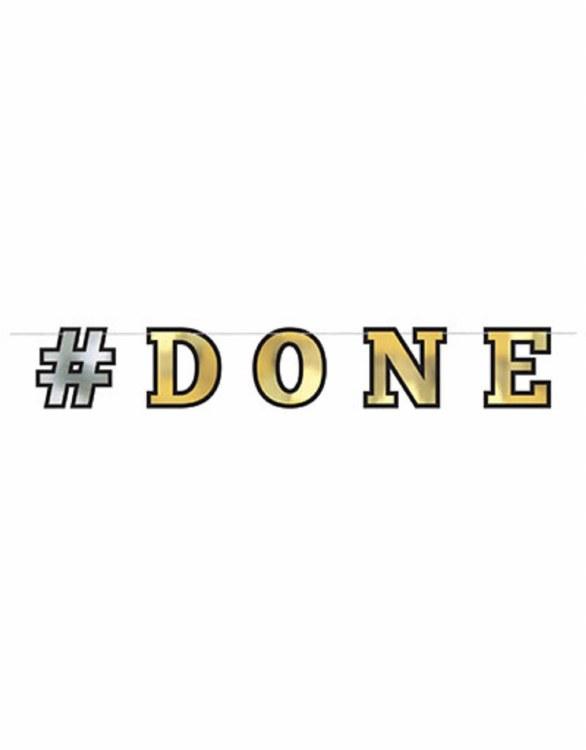 #Done Graduation Banner