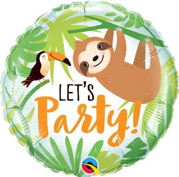 """Let's Party Sloth & Tuccan ~ 18"""""""