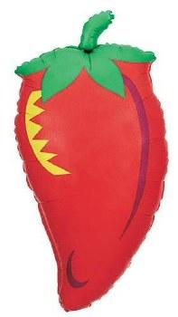 "Mylar 32"" Chili Pepper"