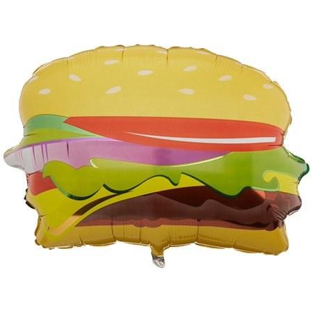 Mylar 28in Hamburger Shape