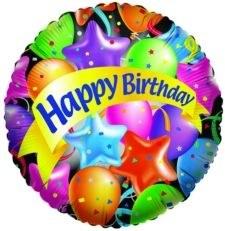 """Festive Happy Birthday ~ 18"""""""