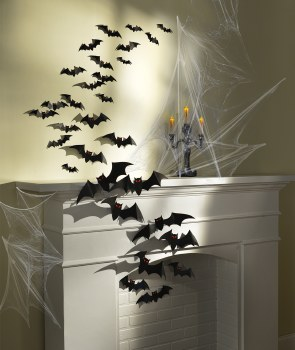 Bat Cutouts Cemetery Val Pack