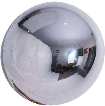 Spheroid Silver 20in