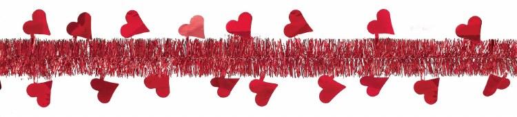 Garland Tinsel Valentine