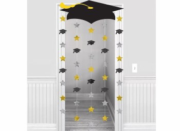 Grad Cap Doorway Curtain