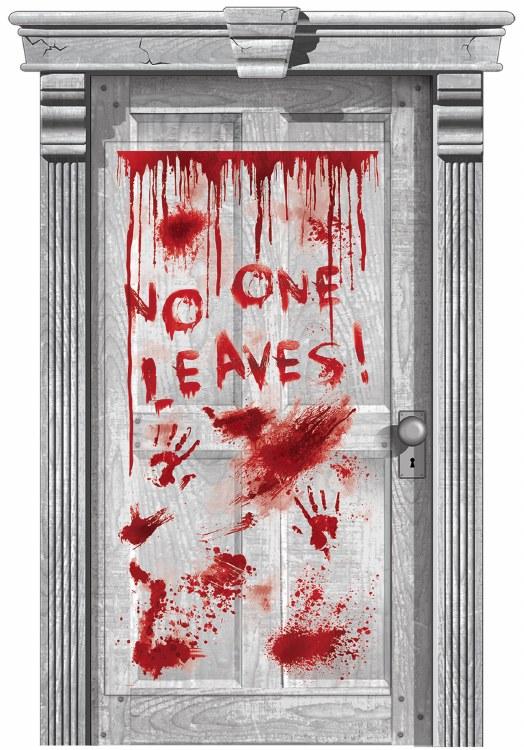 Asylum Door Decoration