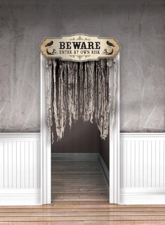 Boneyard Door Curtain