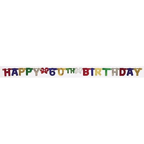 Banner Happy 60th Bday