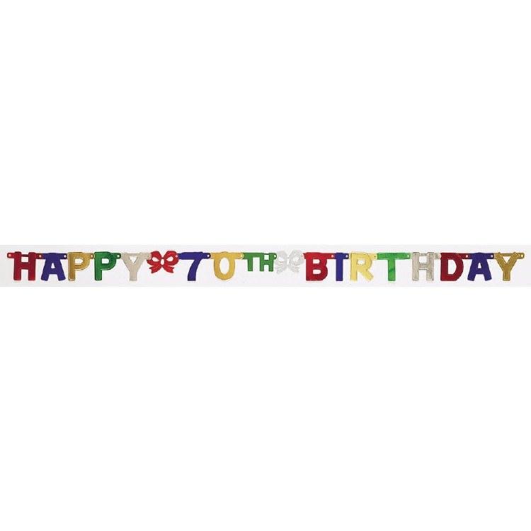 Banner Happy 70th Bday