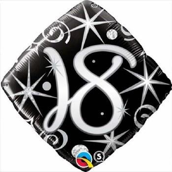 """Mylr 18"""" Elegant Swirls """"18"""
