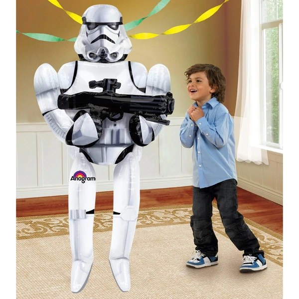 Star Wars Stormtrooper Airwalker ~ 5' 10""