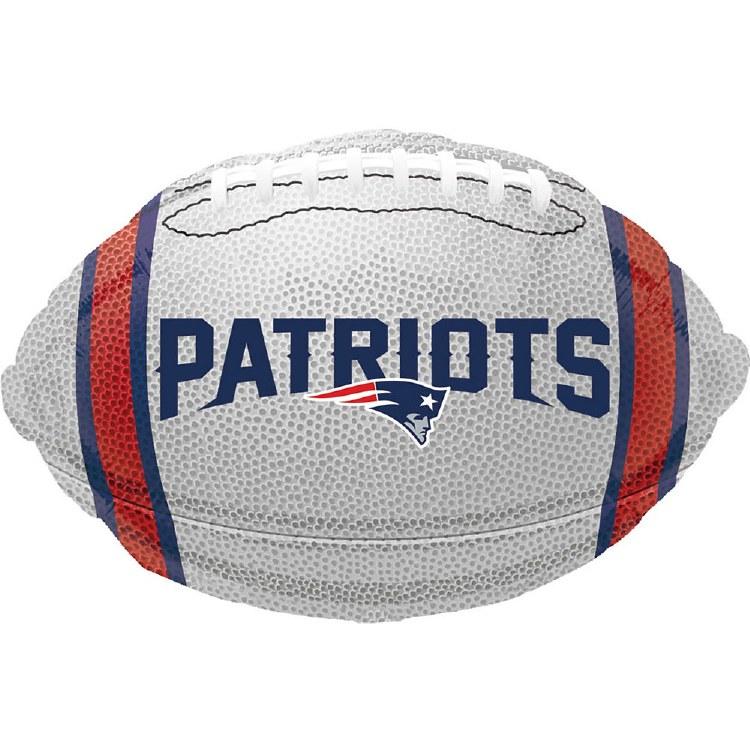 Blln Foil Patriots Football